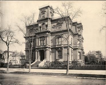 Cyrus McCormick's home
